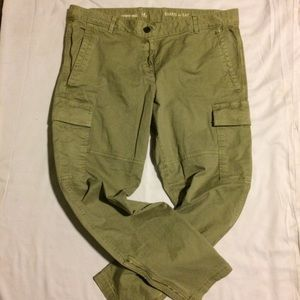 Gap Skinny Mini Khaki Pants Sz 14R